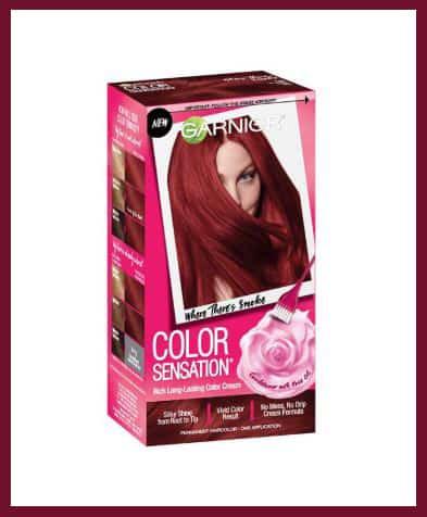 Garnier semi-permanent hair color