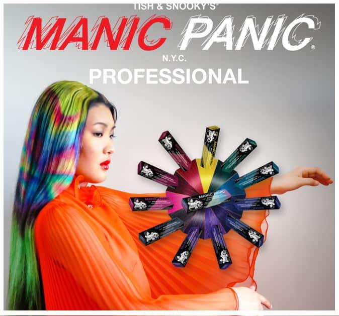 Manic Panic semi-permanent hair color