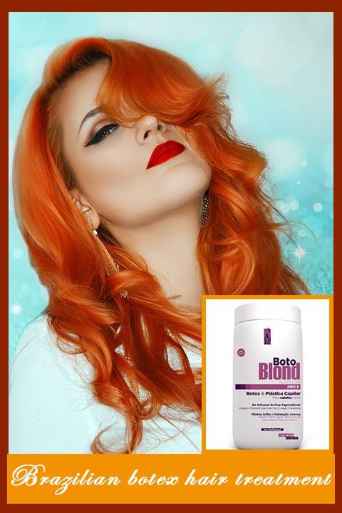 Brazilian botox hair treatment
