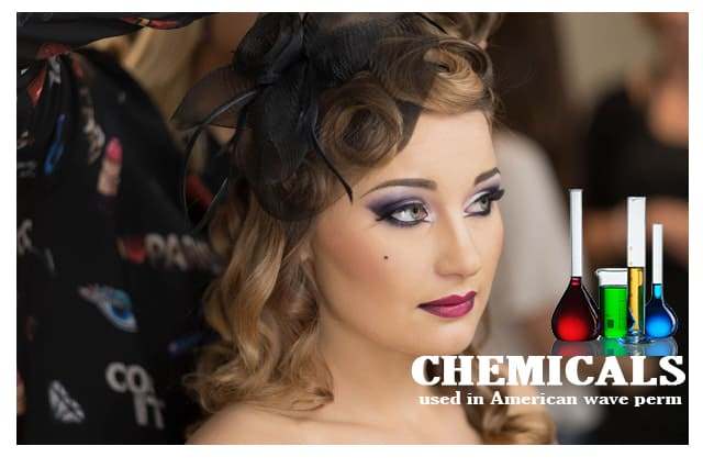 Chemicals used in American wave perm
