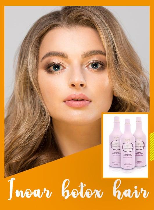 Inoar botox hair treatment