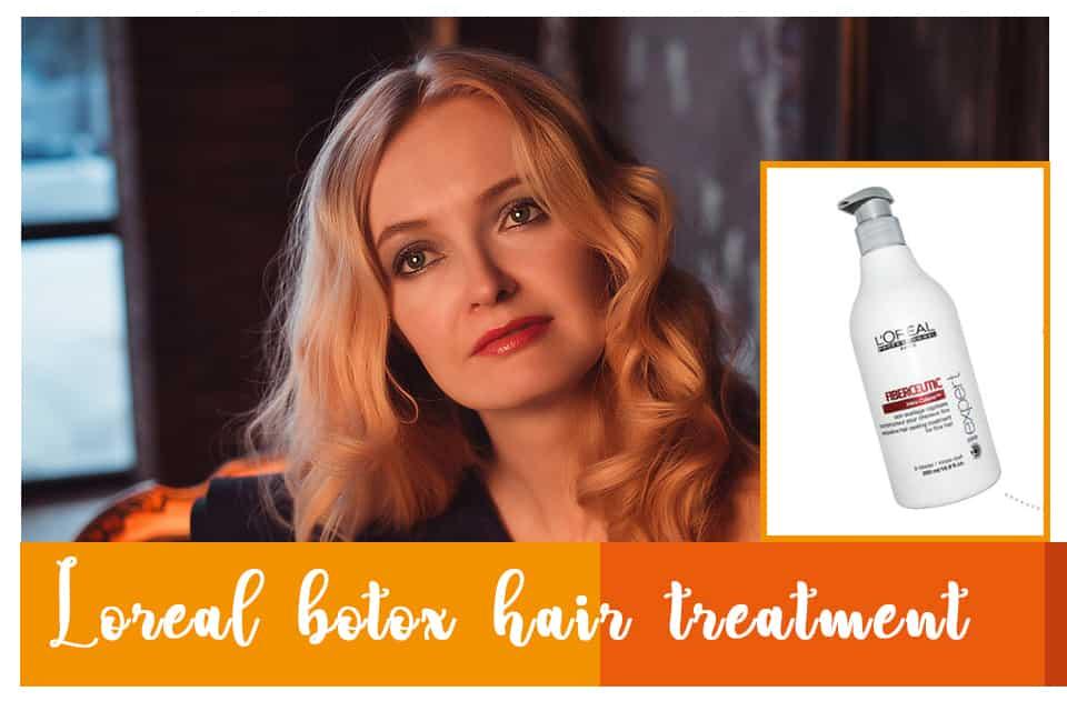 Loreal botox hair treatment
