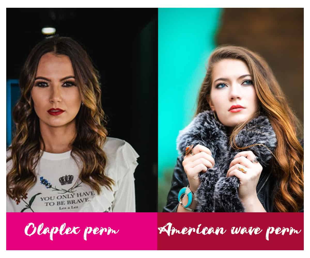 Olaplex perm vs American wave perm