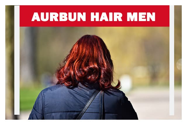 Aurbun hair men