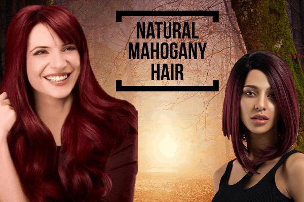 Natural Mahogany Hair