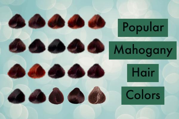 Popular Mahogany Hair Color