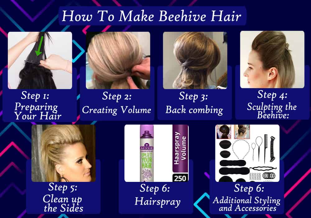 How To Make Beehive Hair