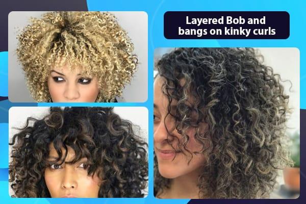 Layered-Bob-and-bangs-on-kinky-curls