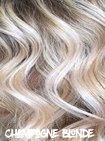 Champagne Blonde Hair Color