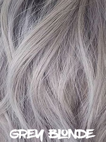 Gray Blonde Hair