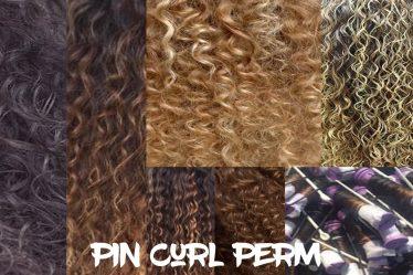 Pin Curl Perm
